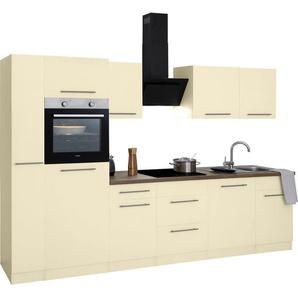 wiho Küchen Küchenzeile »Unna«, mit E-Geräten, Breite 310 cm
