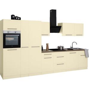 wiho Küchen Küchenzeile »Unna«, mit E-Geräten, Breite 360 cm