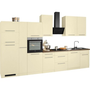 wiho Küchen Küchenzeile »Unna«, mit E-Geräten, Breite 370 cm