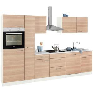 wiho Küchen Küchenzeile »Zell«, ohne E-Geräte, Breite 310 cm