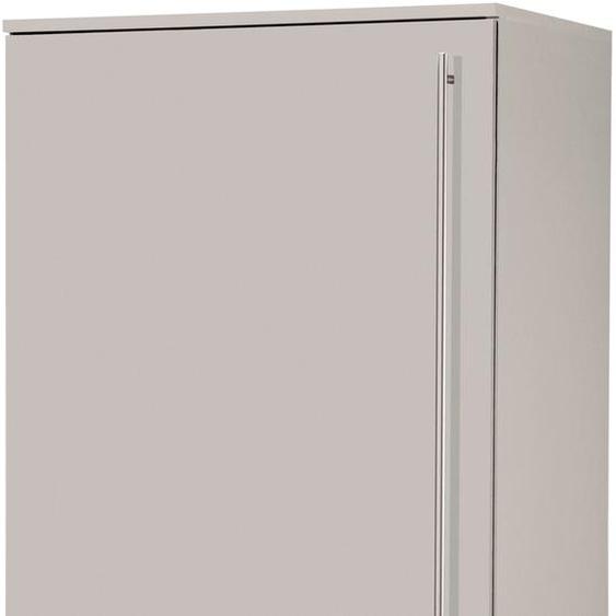 wiho Küchen Kühlumbauschrank Chicago 60 x 145 57 (B H T) cm, 2-türig beige Küchenserien Küchenmöbel Schränke