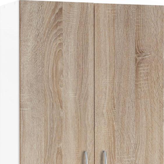 wiho Küchen Mehrzweckschrank Brilon 80 x 180 35 (B H T) cm braun Vorratsschränke Küchenschränke Küchenmöbel Schränke