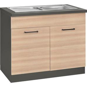 wiho Küchen Spülenschrank »Esbo« 100 cm breit