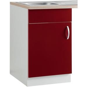 wiho Küchen Spülenschrank Flexi
