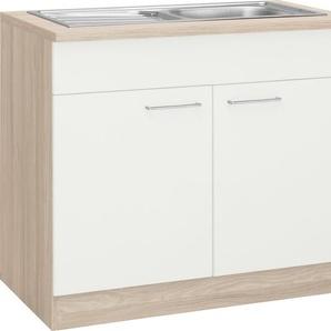 wiho Küchen Spülenschrank »Zell« Breite 100 cm