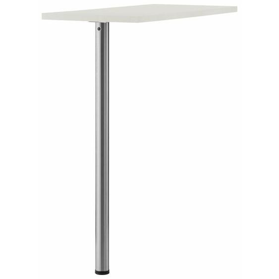 wiho Küchen Tresentisch Flexi Tischplatte: Holzwerkstoff, Gestell: Metall weiß Küchenserien Küchenmöbel Tisch