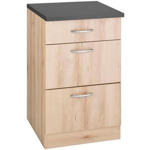 wiho Küchen Unterschrank »Brilon« mit großen Auszügen, Breite 50 cm