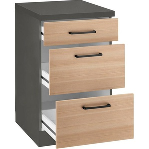 wiho Küchen Unterschrank »Esbo« mit großen Auszügen, Breite 50 cm
