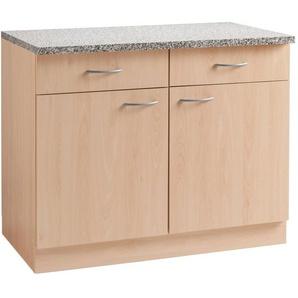 wiho Küchen Unterschrank »Kiel« 100 cm breit, in Tiefe 60 cm