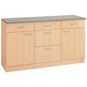 wiho Küchen Unterschrank »Kiel« 150/50/85 cm