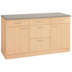 wiho Küchen Unterschrank »Kiel« 150/60/85 cm