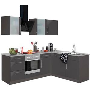 WIHO-Küchen Winkelküche »Cali« mit E-Geräten, Stellbreite 220 x 170 cm