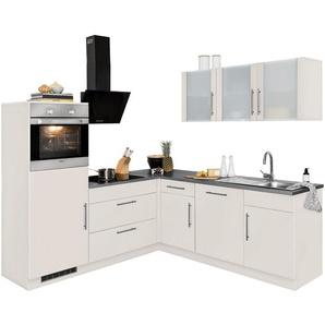 wiho Küchen Winkelküche »Cali«, ohne E-Geräte, Stellbreite 210 x 220 cm