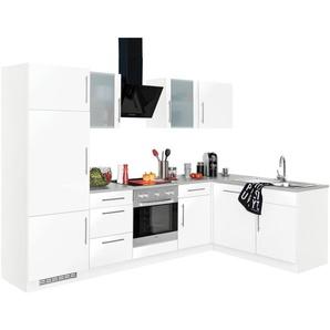 wiho Küchen Winkelküche »Cali«, ohne E-Geräte, Stellbreite 280 x 170 cm