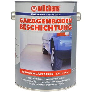 Wilckens Garagenboden-Beschichtung, 2,5 L, Bodenversiegelung, anthrazit- oder kieselgrau