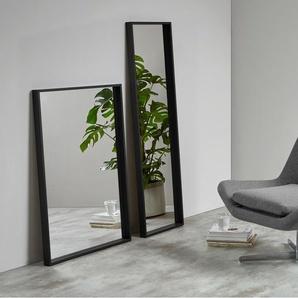 Wilson Wandspiegel (40 x 140 cm), Schwarz