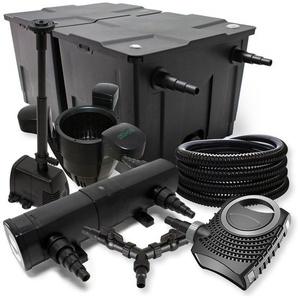 SunSun Druckteichfilter Set für 6000l mit 11W UVC Teichklärer und 10W ECO Pumpe
