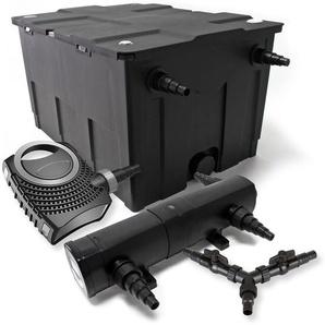 SunSun Filter Set 60000l Teich 36W Teichklärer NEO8000 70W Pumpe - WILTEC