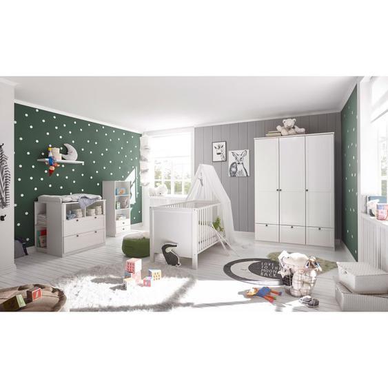 Babyzimmer Landhau in Weiß Komplettset made in Germany - WIMEX
