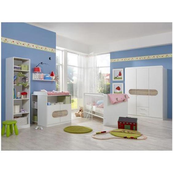 Babyzimmer Lilly in Weiß und Eiche | Kompletteinrichtung - WIMEX