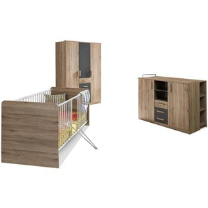 WIMEX Babyzimmer-Set, Eiche, Holzoptik