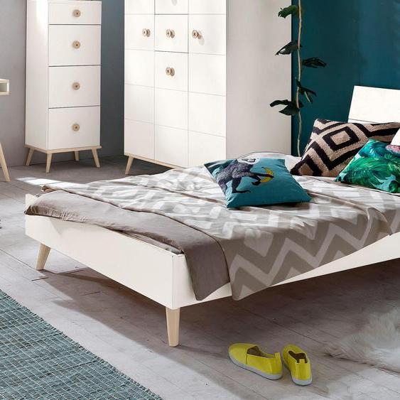 Wimex Bett Billund 120x200 cm weiß Kinder Jugendbetten Jugendmöbel Kindermöbel Betten