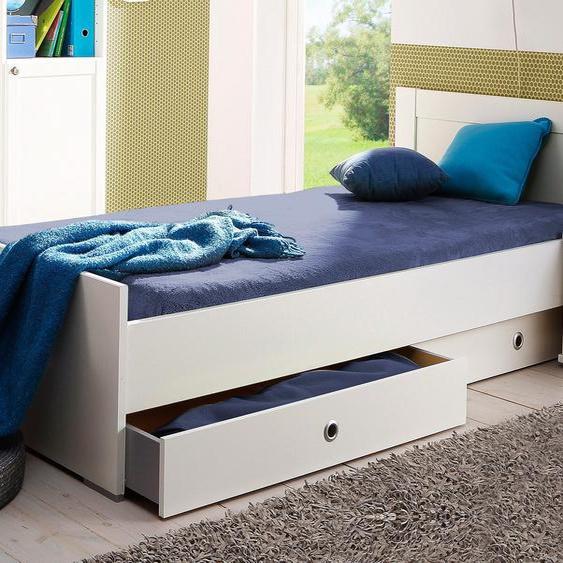 Wimex Bett Filou 90x200 cm weiß Kinder Kinderbetten Kindermöbel Betten