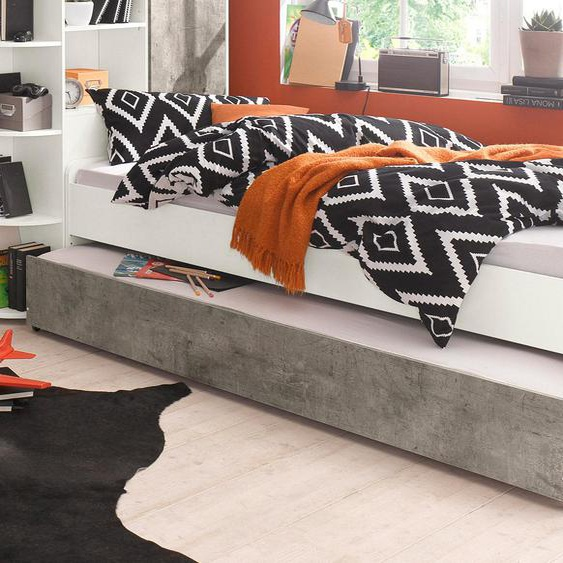 Wimex Bett Joker 90x200 cm weiß Kinder Jugendbetten Jugendmöbel Kindermöbel Betten