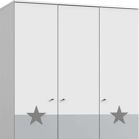 Wimex Drehtürenschrank Rocky, mit Soft-Close 125 x 202 55 (B H T) cm, 3-türig weiß Kinder Kinderschränke Kindermöbel Schränke