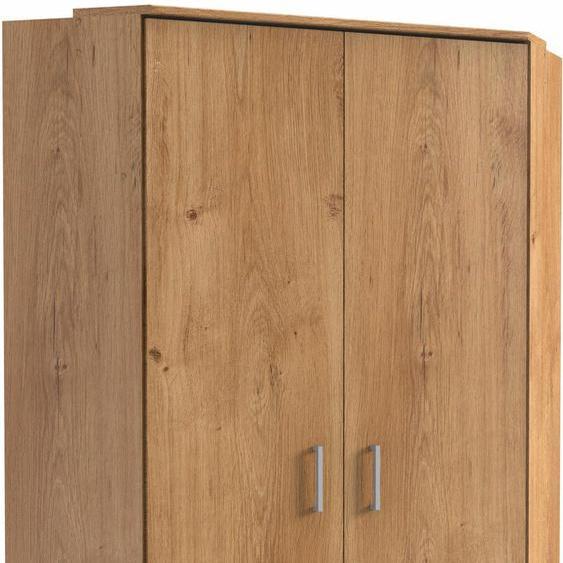 Eck-Kleiderschrank »Click«, WIMEX, beige, Material Leinen, Metall, Kunststoff