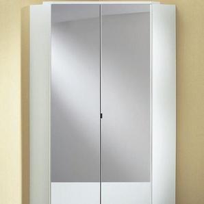 Wimex Eckkleiderschrank »Imago«, mit Spiegeltüren, weiß