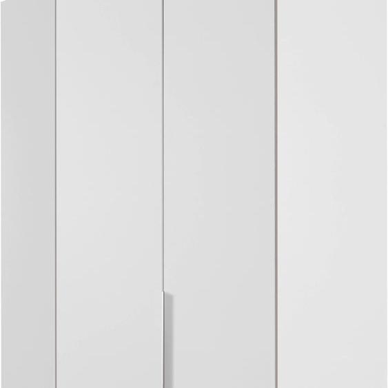 Wimex Eckkleiderschrank New York B/H/T: 90 cm x 208 125 weiß Eckschränke Kleiderschränke