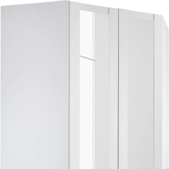 Wimex Eckkleiderschrank New York H: 236 cm weiß Eckschränke Kleiderschränke