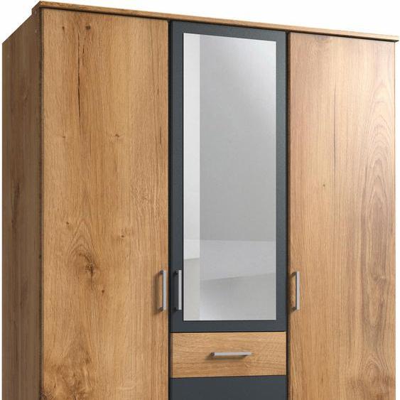 Wimex Kleiderschrank Click B/H/T: 135 cm x 199 58 cm, 3 beige Drehtürenschränke Kleiderschränke