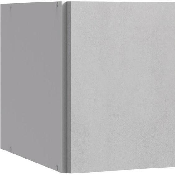 Wimex Schrankaufsatz 90x56x42 cm, Aufsatz, 2-türig grau Zubehör für Kleiderschränke Möbel Möbelaufsätze