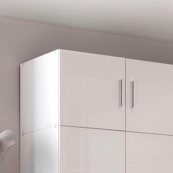 Wimex Schrankaufsatz Malta 80x54x40 cm, weiß Zubehör für Kleiderschränke Möbel Möbelaufsätze
