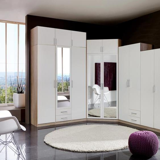 Wimex Schrankaufsatz Spectral 135x58x40 cm weiß Zubehör für Kleiderschränke Möbel Möbelaufsätze