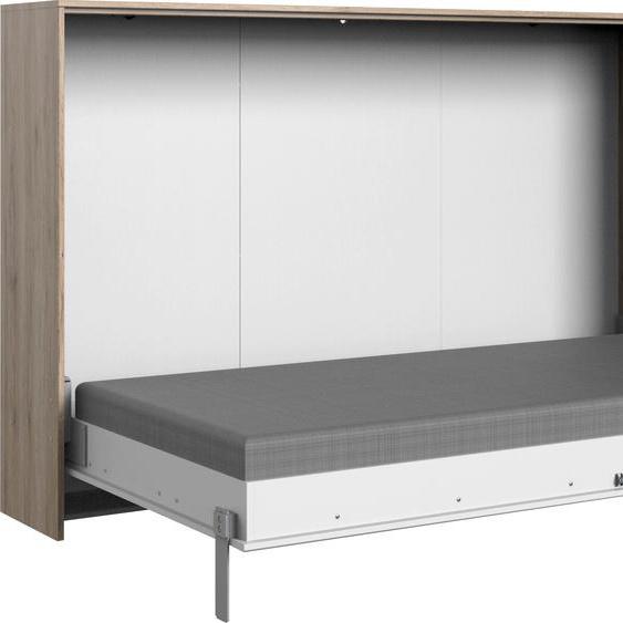 Wimex Schrankbett Juist 120x200 cm weiß Klappbetten Gästebetten Betten Schrankbetten