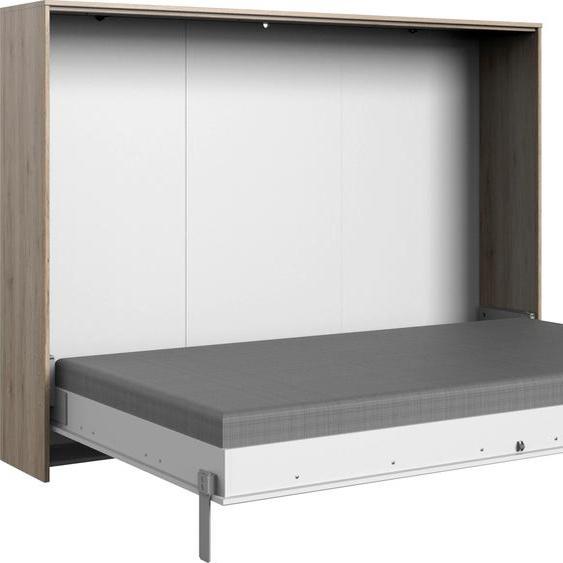 Wimex Schrankbett Juist 140x200 cm weiß Klappbetten Gästebetten Betten Schrankbetten