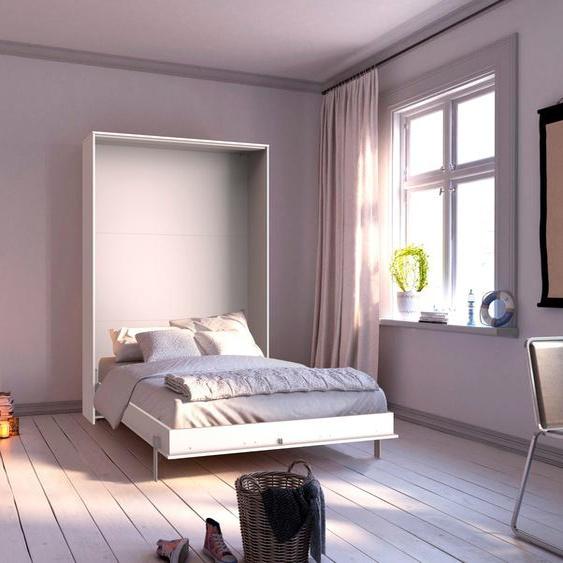 Schrankbett »Juist«, weiß, Material Holzwerkstoff