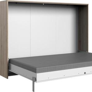 Wimex Schrankbett Juist, horizontal klappbar Lattenrost, B/L: 140 cm x 200 Betthöhe: 12 cm, kein Härtegrad, ohne Matratze weiß Funktionsbetten Betten Schlafzimmer