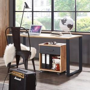 WIMEX Schreibtisch, Eiche, Holz