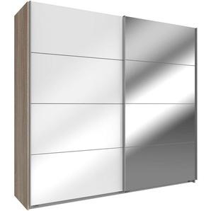 WIMEX Schwebetürenschrank, 180 x 210 x 65 BxHxT cm, weiß »Easy«