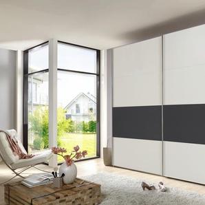 WIMEX Schwebetürenschrank, 225 x 210 x 65 BxHxT cm, weiß »Bert«