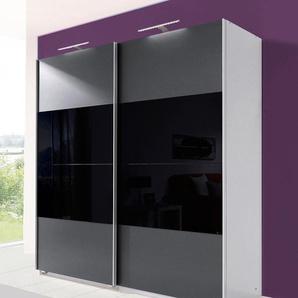 Schwebetürenschrank »Enter«, grau, Breite 135 cm, Wimex