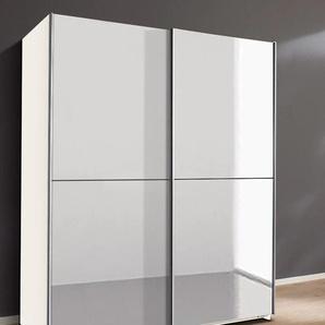Wimex Schwebetürenschrank Queen B/H/T: 180 cm x 198 65 cm, Vollspiegel, 2 weiß Schwebetürenschränke Kleiderschränke
