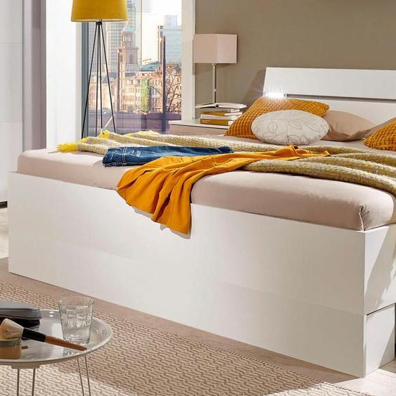 Wimex Stauraumbett Cheep 180x200 cm, cm weiß Futonbetten Betten
