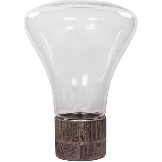 Windlicht Grau ca. 31cm (L) x 31cm (B) x 38cm (H)