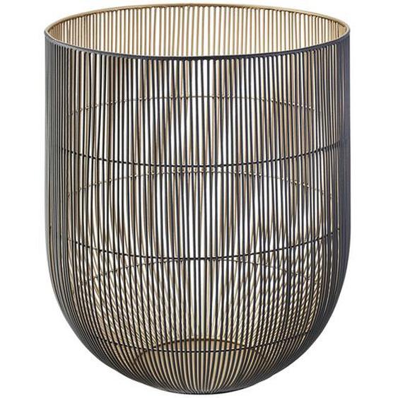 Windlicht - schwarz - Eisen | Möbel Kraft