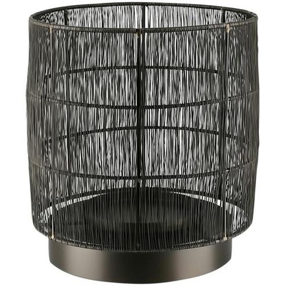 Windlicht - schwarz - Metall | Möbel Kraft